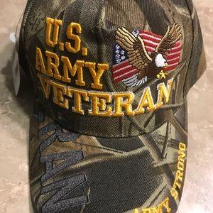 US Army Veteran Cap Woodland Camouflage